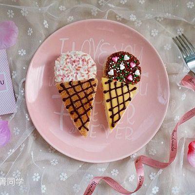 冰淇淋造型吐司