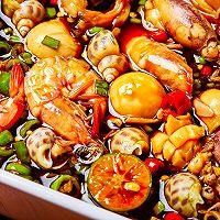 【捞汁小海鲜】一个烧菜不汗流浃背的好方法!的做法图解5