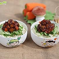 蔬菜健康炸酱面