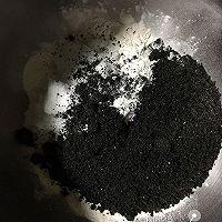 黑芝麻豆沙包的做法图解1