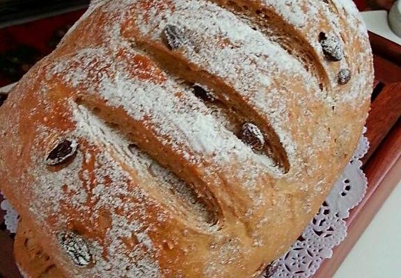 全麦面包的做法_【图解】全麦面包怎么做好吃