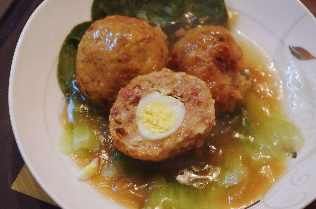 鹌鹑羊肝肉丸馍花大猪肉加做法蛋儿的魔芋图解9荸荠炒着吃图片