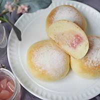 养乐多蜜桃冰面包的做法图解21