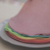 爱的彩虹蛋糕「厨娘物语」的做法图解14