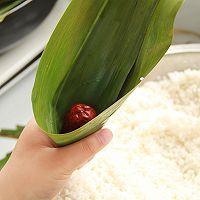 鲜肉鸭蛋黄粽子(内含红豆大枣口味)的做法图解9
