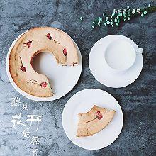 #正的模具试用#蔓越莓樱花天使蛋糕
