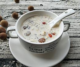 #营养小食光#奇亚籽牛奶醪糟的做法