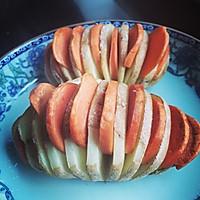 土豆烤香肠的做法图解5
