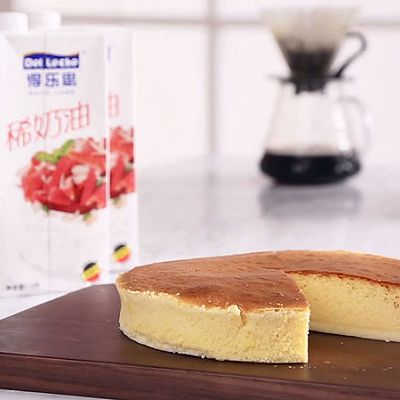 日式轻乳酪蛋糕