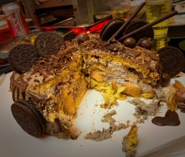 奥利奥咸甜蛋糕的做法