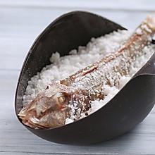 盐焗红头鱼