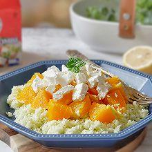 香橙奶酪佐菜花米