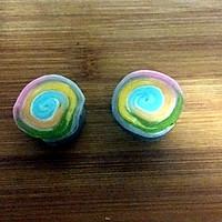 彩虹蛋黄酥的做法图解18