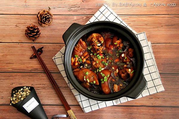 黄豆猪蹄#每道菜都是一台食光机#的做法
