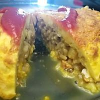 鸡肉咖喱蛋包饭
