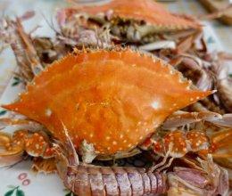 蒸螃蟹皮皮虾的做法