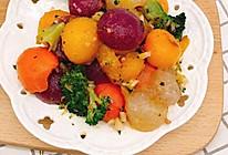 清炒五色蔬菜球的做法
