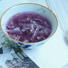 紫薯银耳汤#膳魔师南甜主题月#