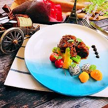 馥郁果香焖牛肉