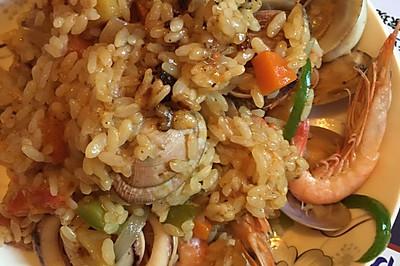 亚亚·咖喱海鲜饭