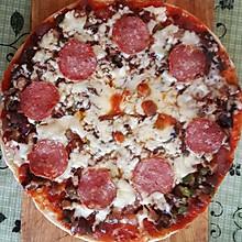 快来学微波炉照样做出美味披萨