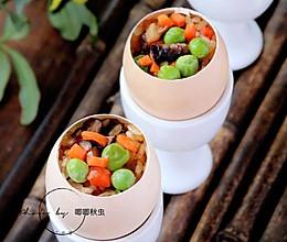 抖音同款的糯米蛋#春天肉菜这样吃#的做法