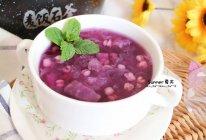 紫薯银耳薏仁粥的做法