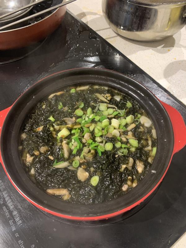 紫菜海蛎煲的做法