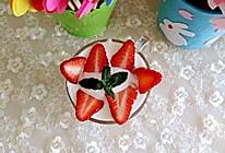 草莓酸奶昔的做法