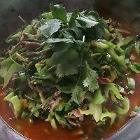 青菜牛肉的做法图解10