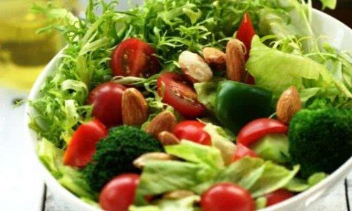 满园春色关不住-----杏仁蔬菜沙拉的做法