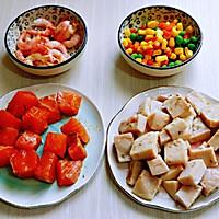 山葵木鱼花三文鱼沙拉#花10分钟,做一道菜!#的做法图解9