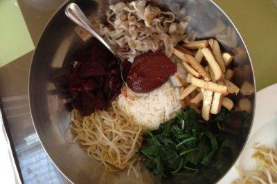 超简易版韩国拌饭