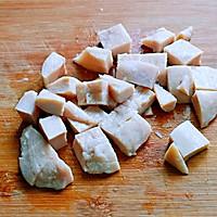 山葵木鱼花三文鱼沙拉#花10分钟,做一道菜!#的做法图解4