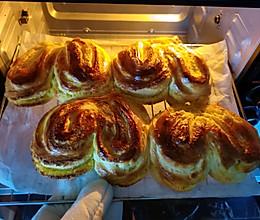 心型椰蓉面包的做法