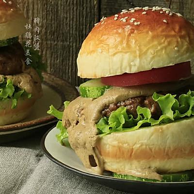 10分钟也可以做个【汉堡】当早餐!