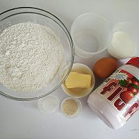 fluff棉花糖之超软拉丝波兰种吐司#有颜值的实力派#的做法图解1