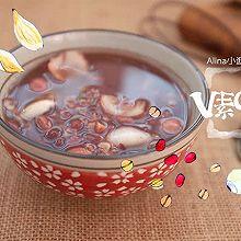 百合红豆莲子粥