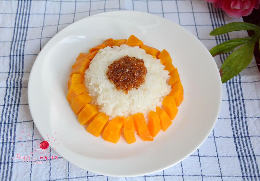 糯米蒸南瓜的做法步骤