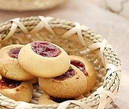 红莓果酱饼干的做法