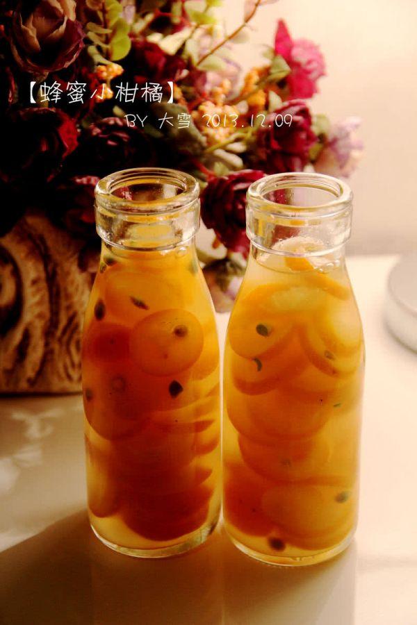 蜂蜜小柑橘的做法