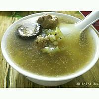 冬瓜薏米香菇老鸭汤