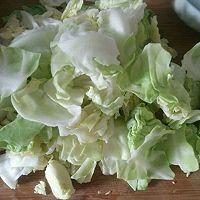 爆炒圆白菜的做法图解1