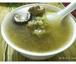 冬瓜薏米香菇老鸭汤的做法