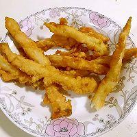 酥酥嫩嫩的软炸银鱼的做法图解6