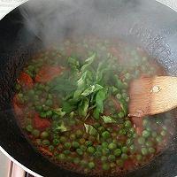 茄汁豌豆下饭菜的做法图解9
