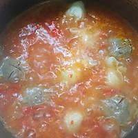 牛肉丸番茄小火锅的做法图解5