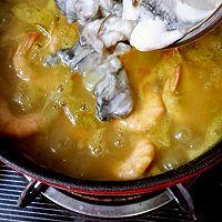 咖喱鲜虾牡蛎锅的做法图解13