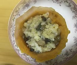 南瓜八宝饭的做法