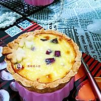 紫薯蛋挞#有颜值的实力派#的做法图解19